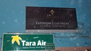 For whatever reason, Las Vegas was advertising in the Kathmandu airport.