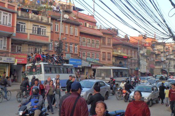 Kathmandu crowd