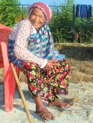 Jagat's mama, at 87 years young